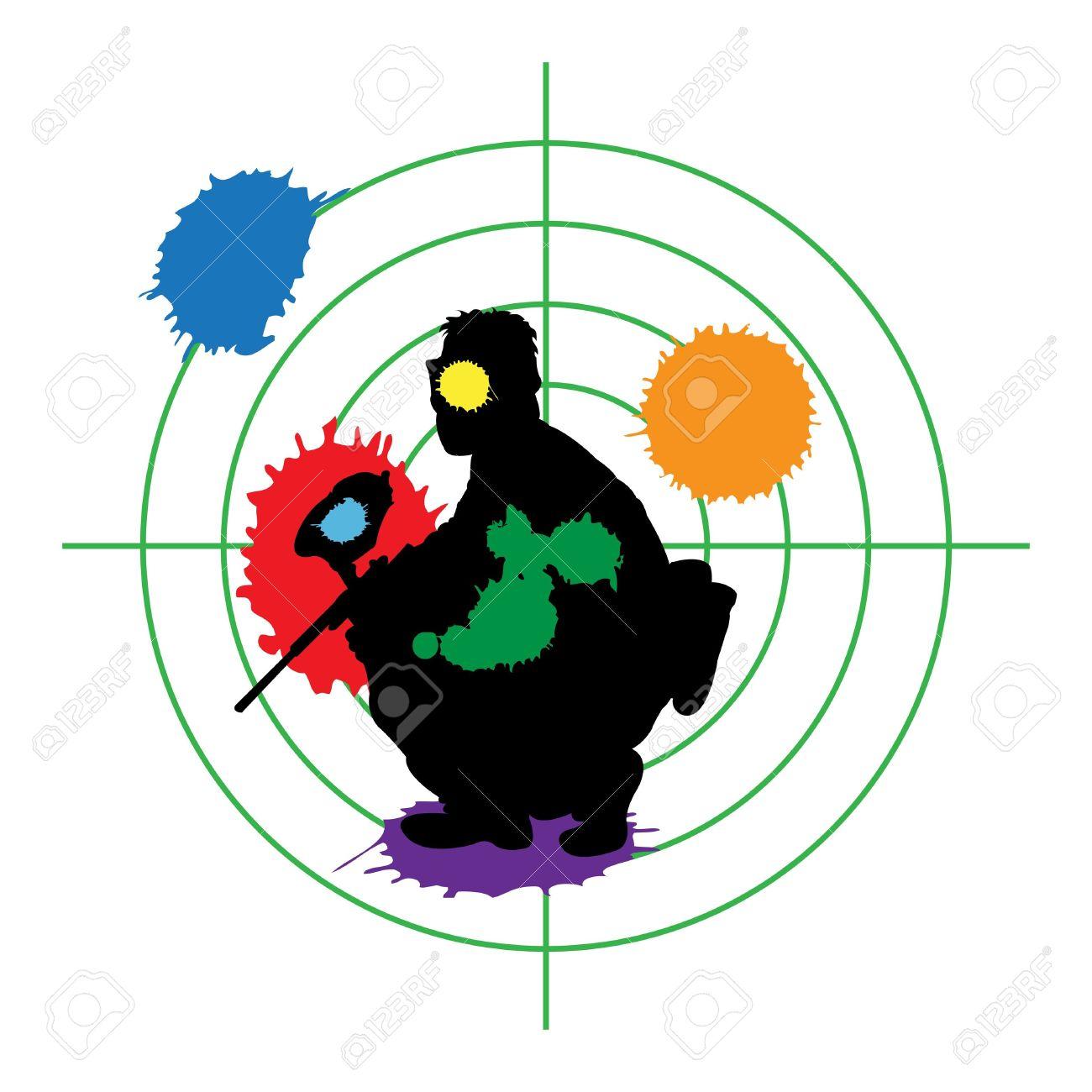 Paintball Clipart.