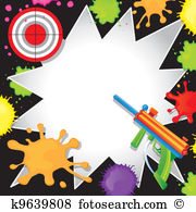 Paintball Clipart Royalty Free. 1,292 paintball clip art vector.
