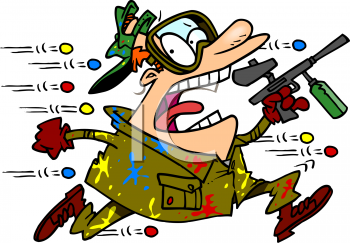 Free paintball clipart images.