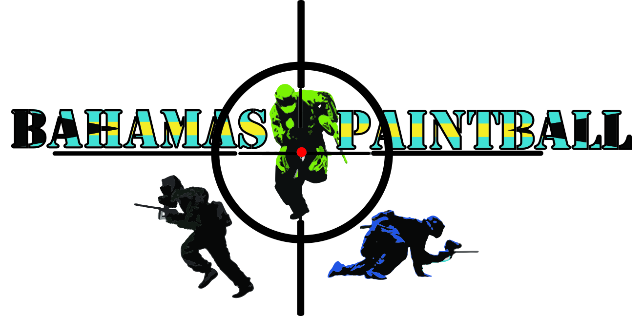 Bahamas Paintball logo.