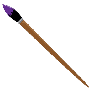 Paint Brush PNG Transparent Images.