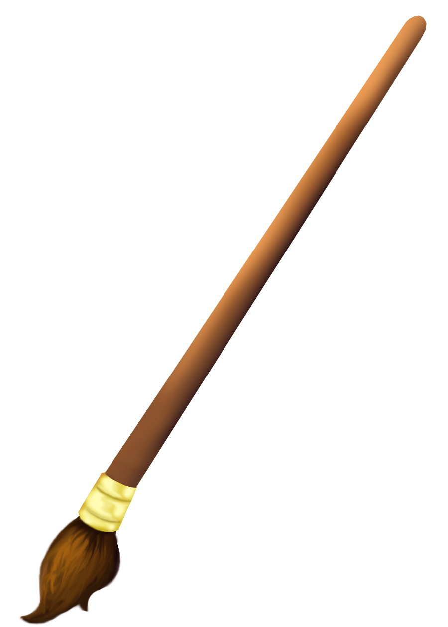 Paint Brush Clip Art Png (+).