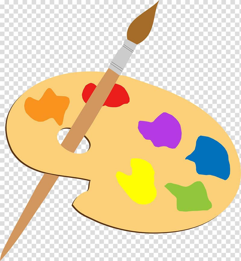 Palette Art Painting Paintbrush , brushes transparent.