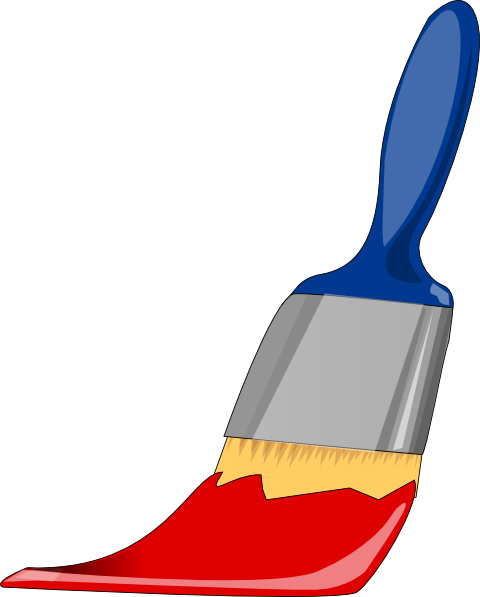 Paintbrush free paint brush clip art clipart.