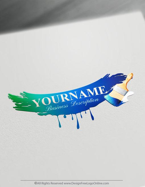 Create a Painter Logo Free.