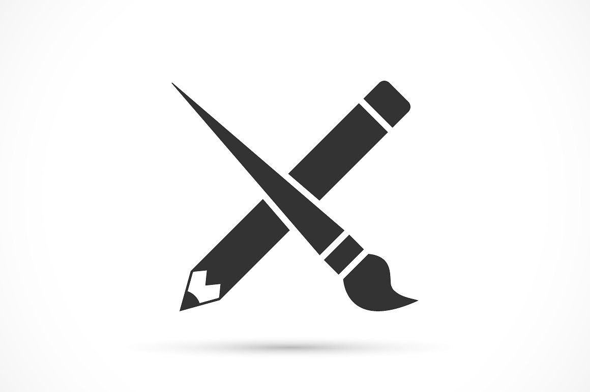 Paint brush Logos.