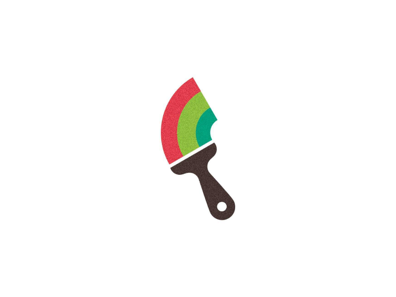 Paintbrush Logo by Cailum Earley on Dribbble.