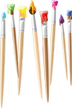 Free Paintbrush Clipart Pictures.