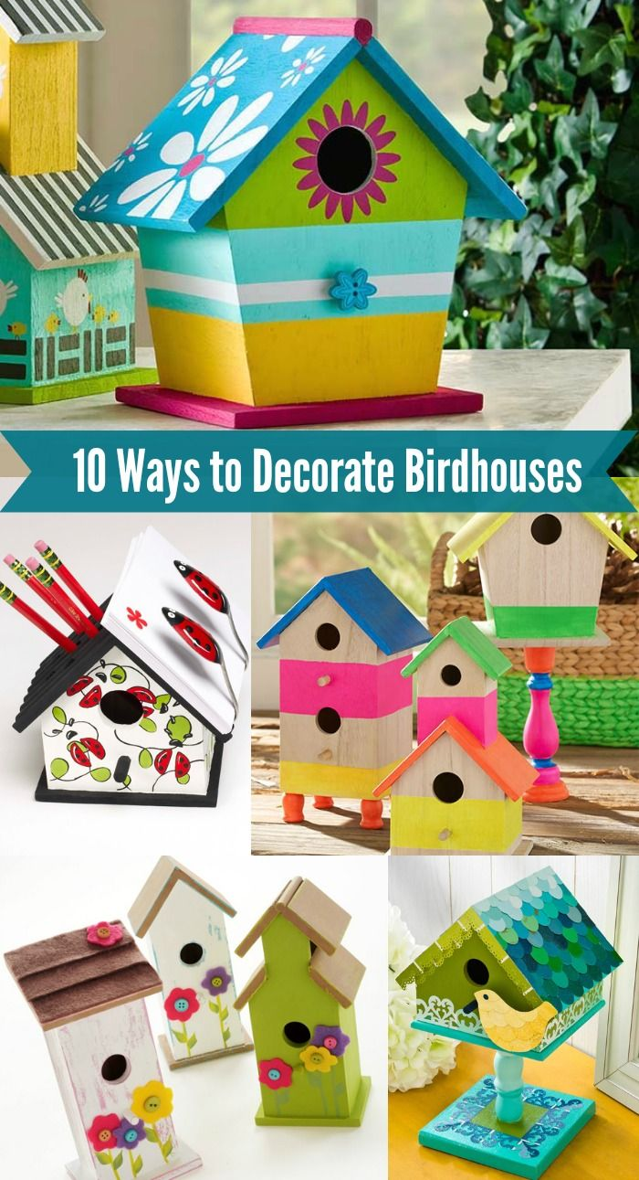 1000+ images about painted birdhouses on Pinterest.