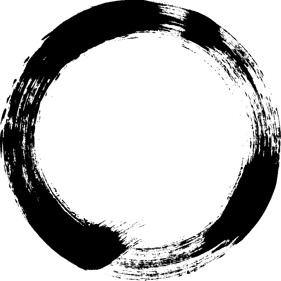 12 Grunge Circle Brush Stroke (PNG Transparent).