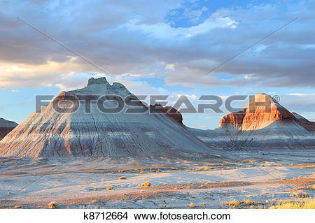 Stock Photo of Painted Desert.