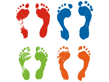 Foot Prints.