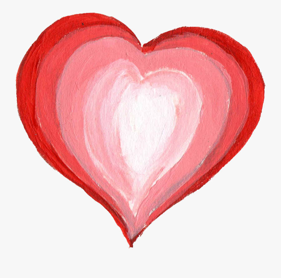Painted Heart Png.