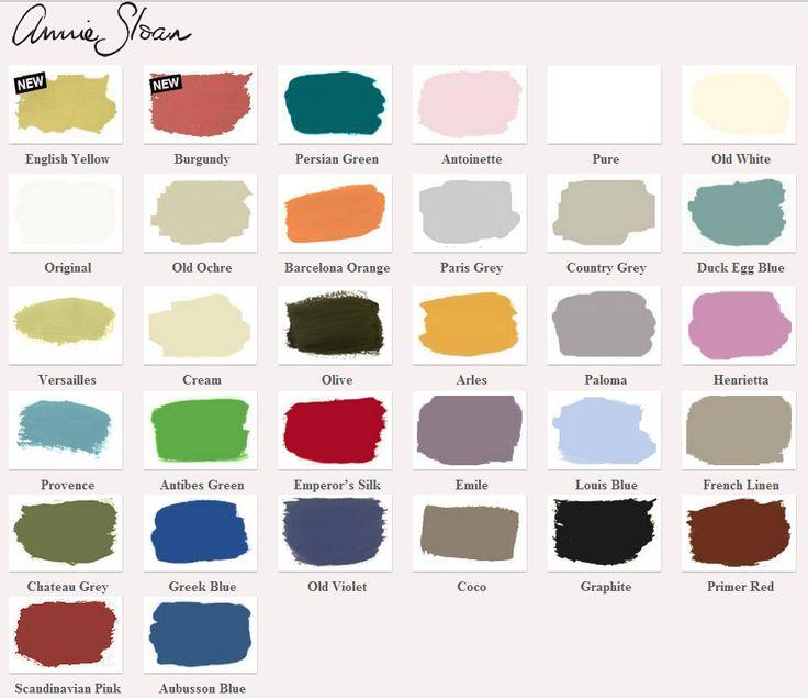 1000+ ideas about Annie Sloan Paint Colors on Pinterest.