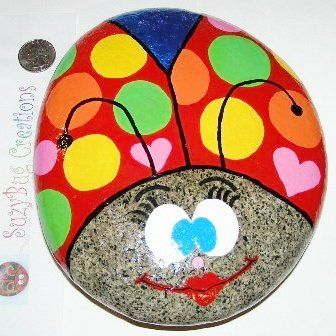 Rock Painting Clipart.