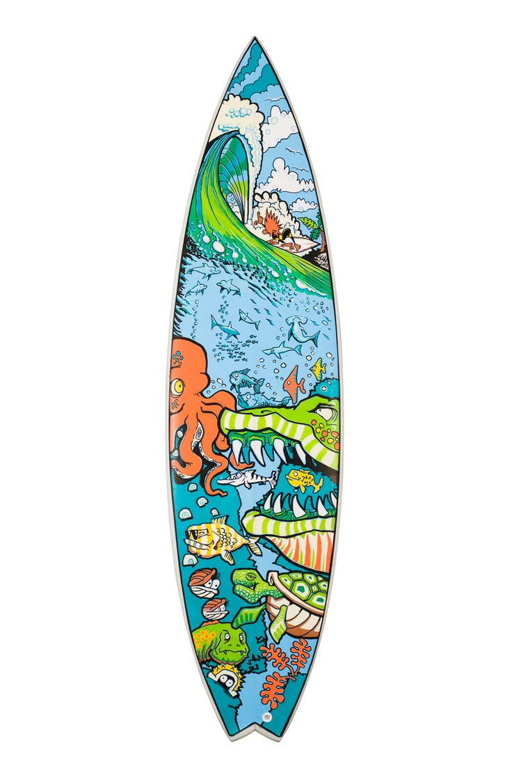 1000+ images about Surfboard art on Pinterest.