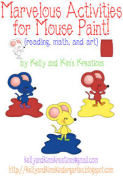 Marvelous Activities for Mouse Paint {reading, by Kelly and.