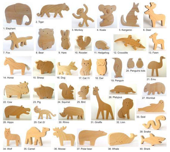 1000+ ideas about Wooden Animals on Pinterest.