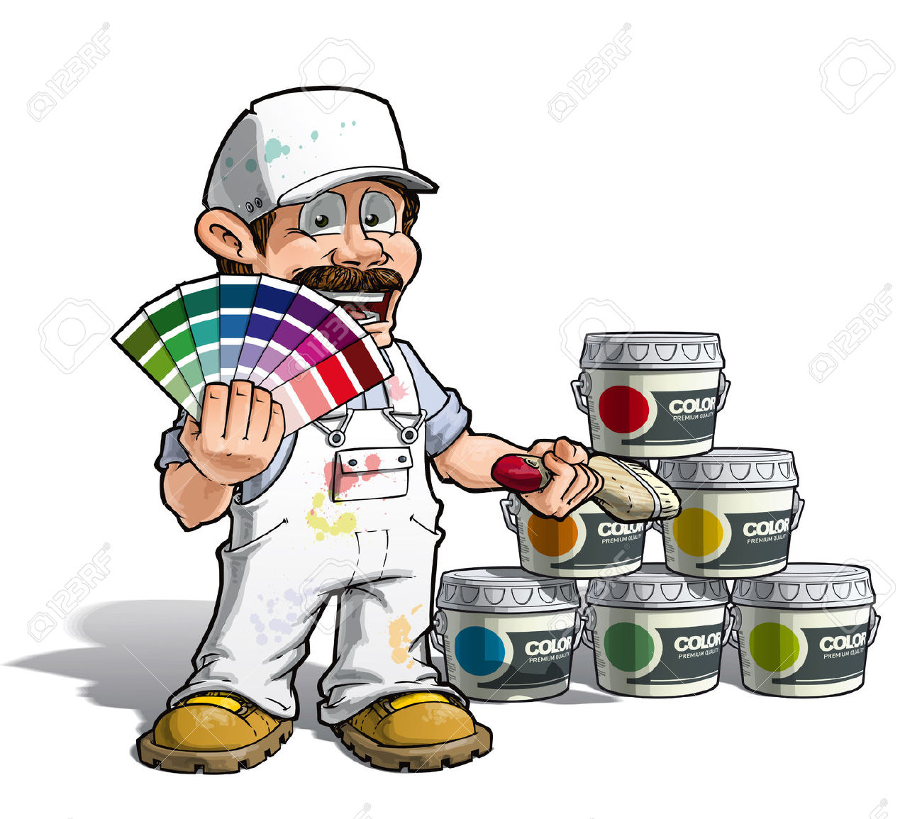 Painter Decorator Sign Stock Vector: Painter And Decorator Clipart 20 Free Cliparts