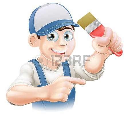 1,565 Painter And Decorator Cliparts, Stock Vector And Royalty.