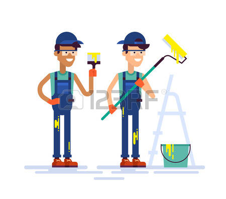 32,248 Painter Stock Vector Illustration And Royalty Free Painter.