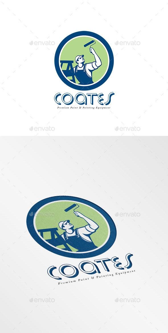 Coates Premium Painters Logo.