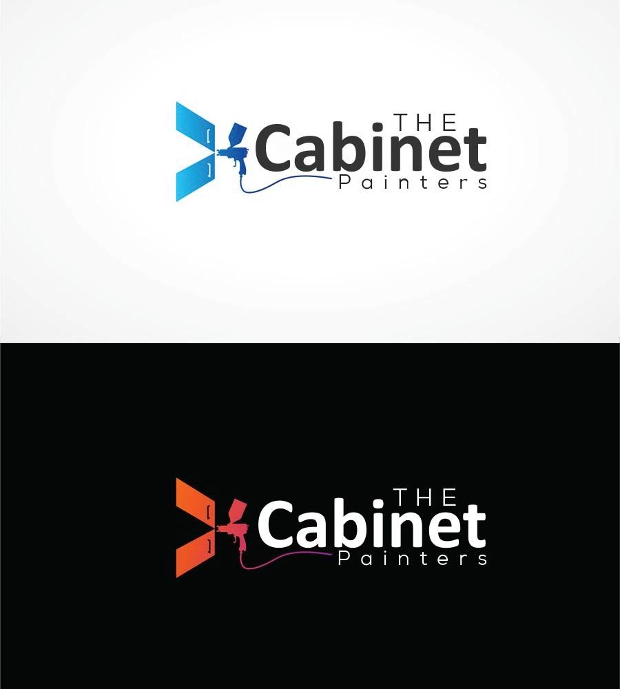Entry #686 by khatriwaheed for Cabinet Painters logo.