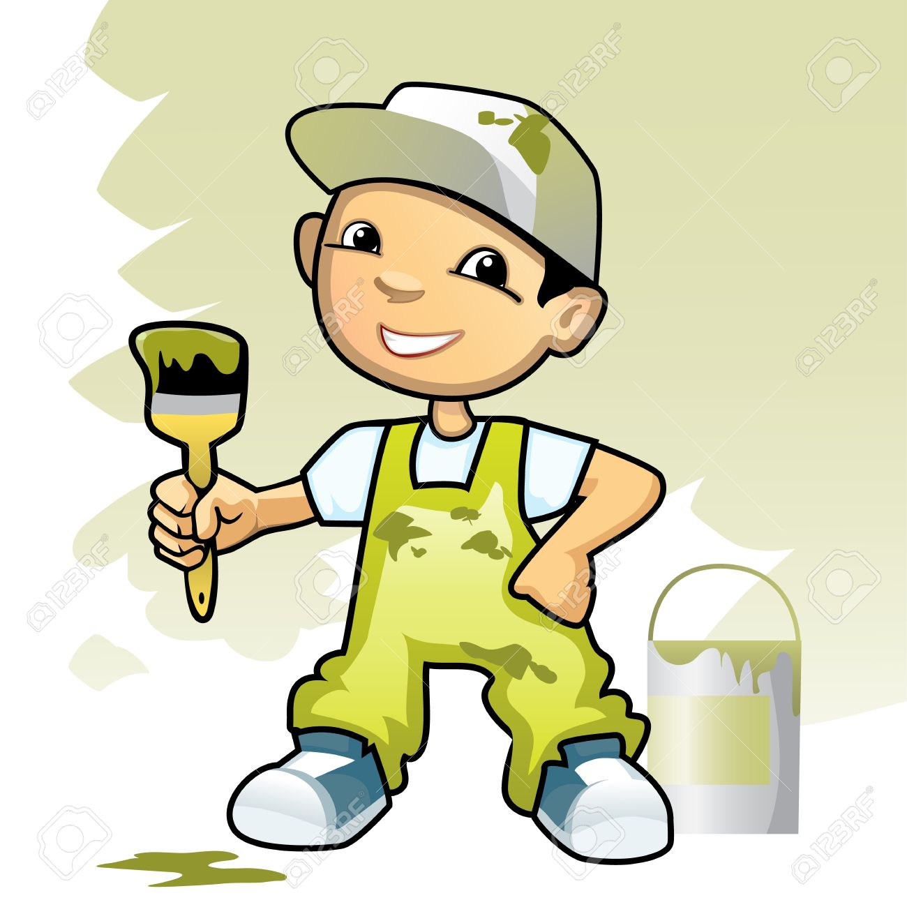 Painting and decorating clipart 4 » Clipart Station.