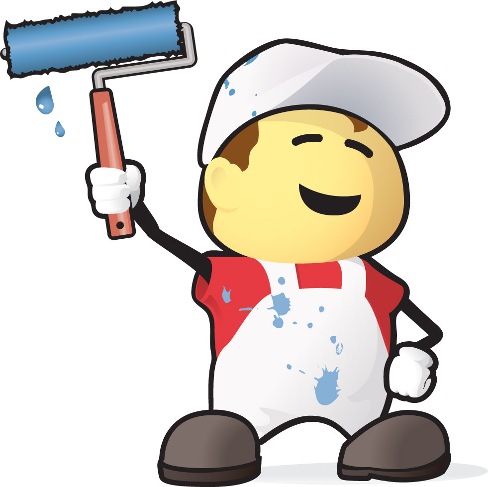 Painting and decorating clipart 5 » Clipart Station.