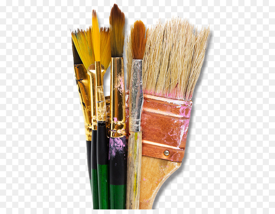 Paint Brush Cartoon png download.