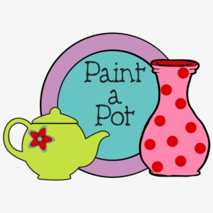 Ceramic Clipart Pottery Painting.