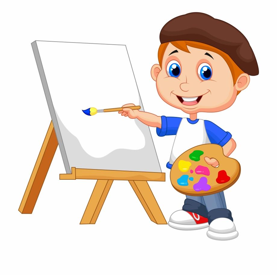Painting Cartoon Royalty Free Drawing.