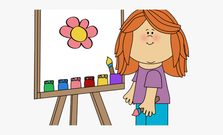Painting Clipart Artist.
