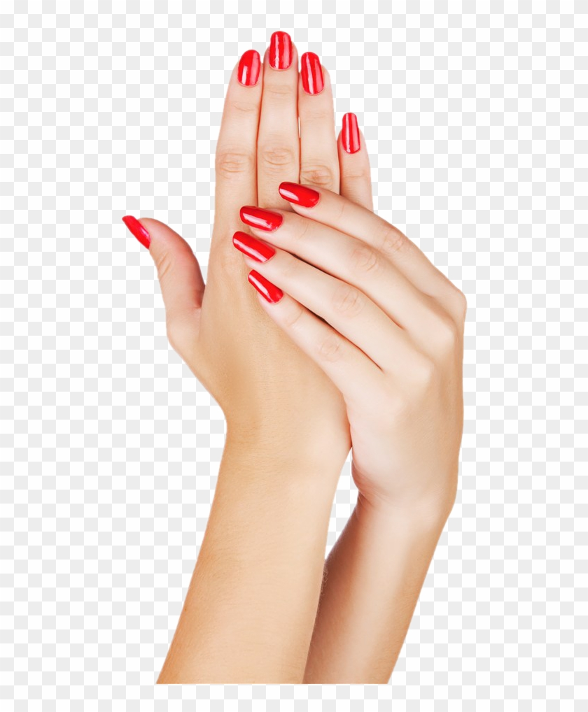 Painted Light Nails Nail Manicure Hands Polish Clipart.