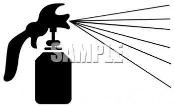 Spray Painter Clipart.