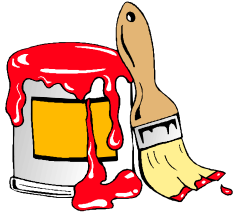 Free Painting Tools Clipart, 1 page of Public Domain Clip Art.