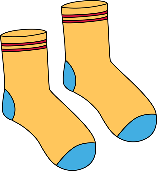 Sock Clip Art.