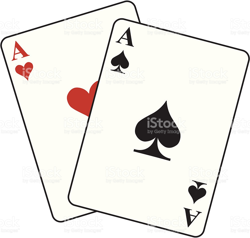 Pocket Aces Clipart.