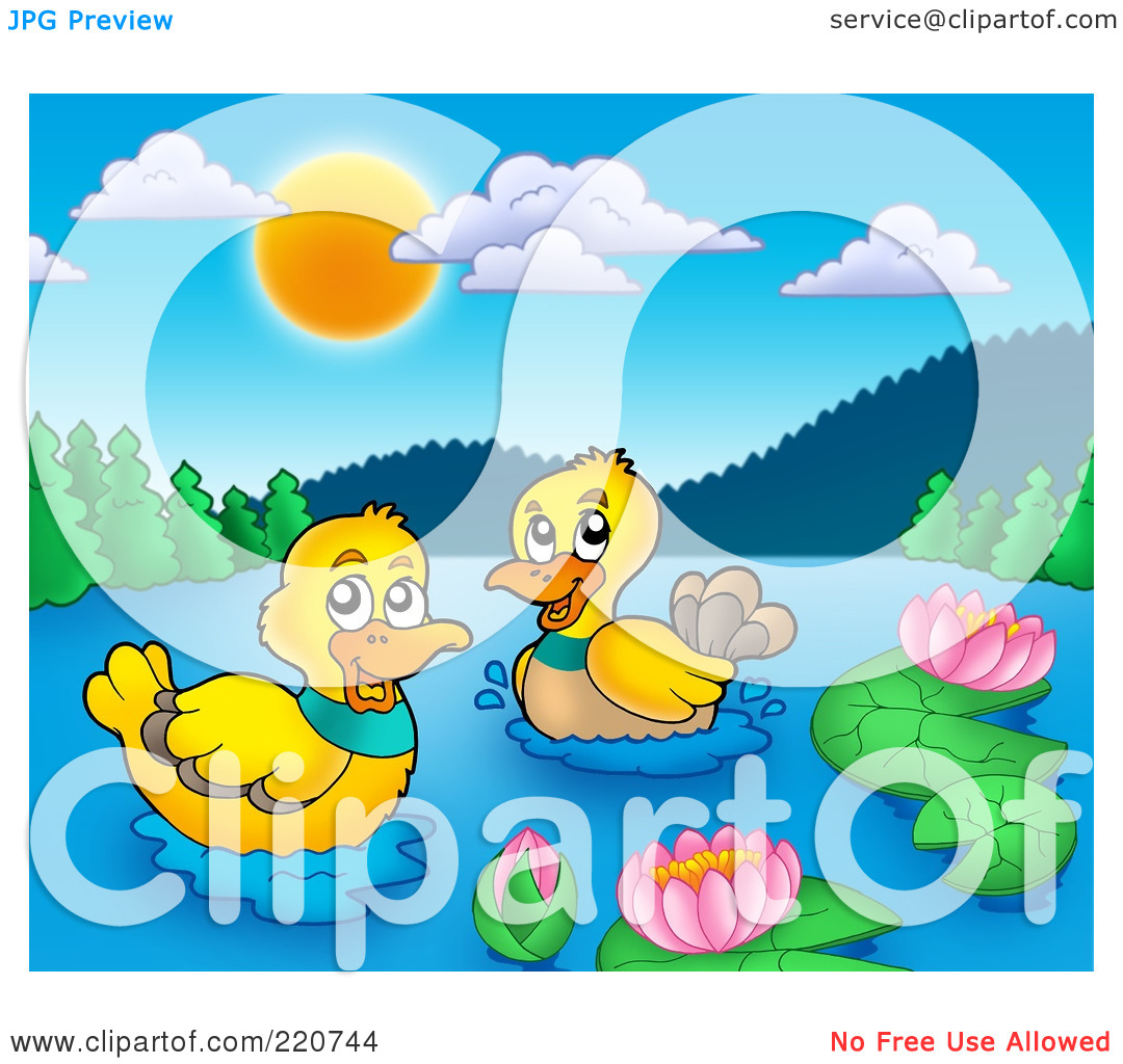 Pair of ducks clipart - Clipground