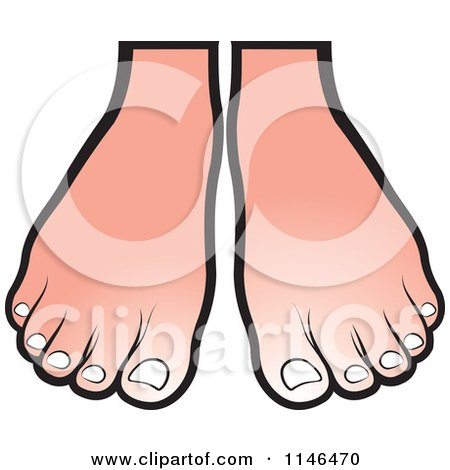 Pair Of Feet Clipart.