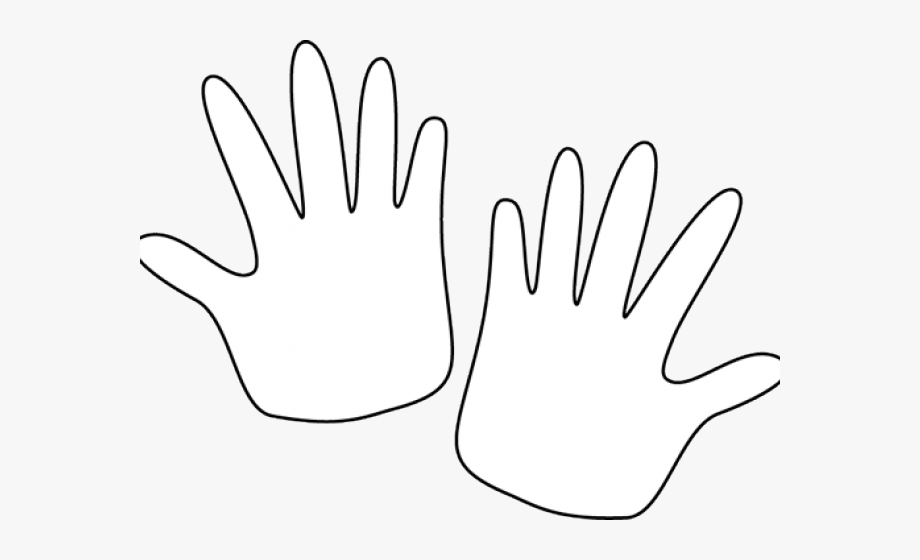 Pair Clipart Quiet Hand.