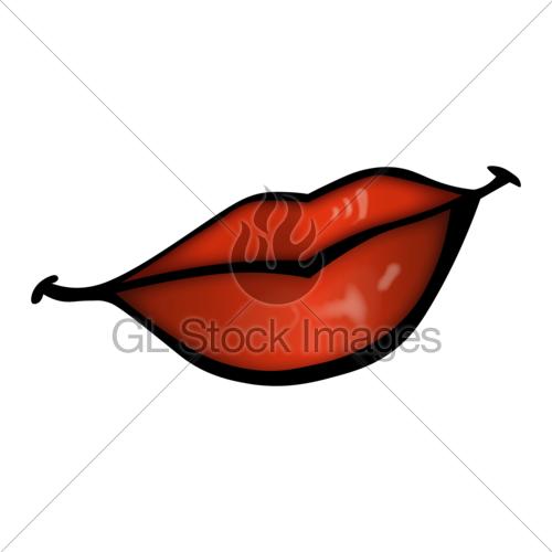 Lips Smile Kiss Shine Red Lipstick Grin Sheen Clipart Car.