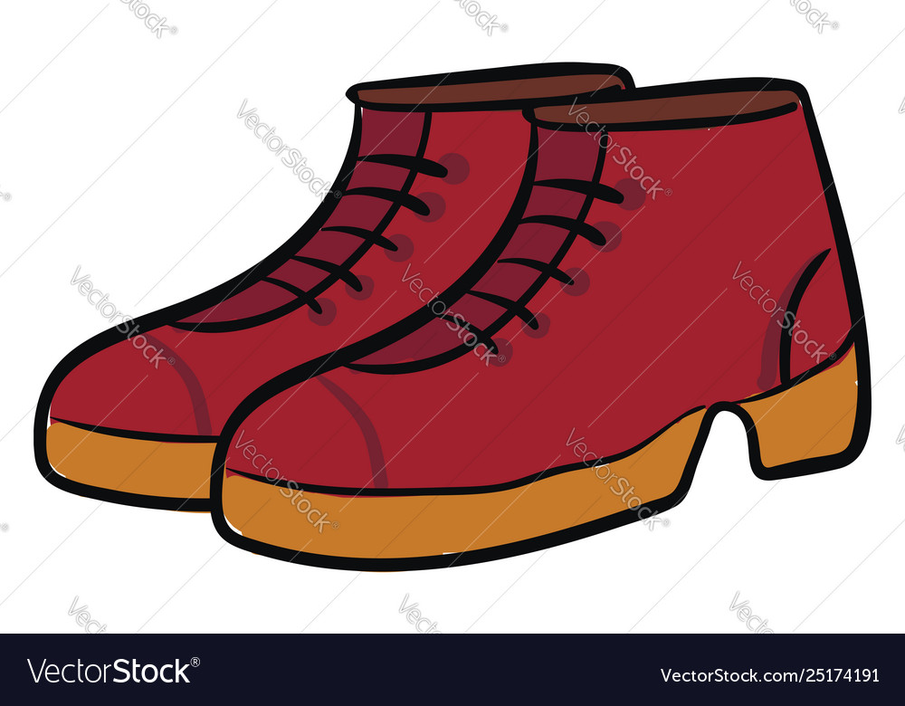 Clipart a pair red.
