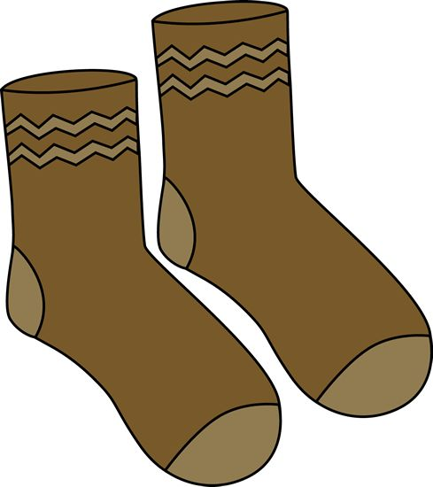 Pairs of socks clip art.