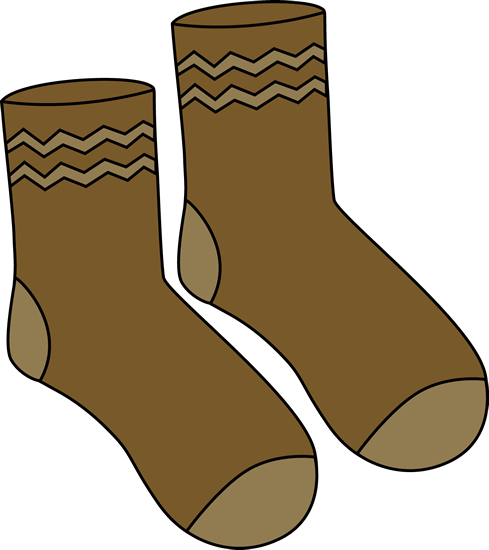 Brown Pair of Socks.