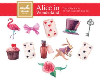 Alice clipart.