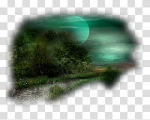 Paisaje transparent background PNG cliparts free download.