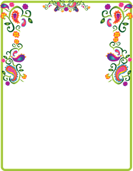 Paisley, Decoration, Border, Note.