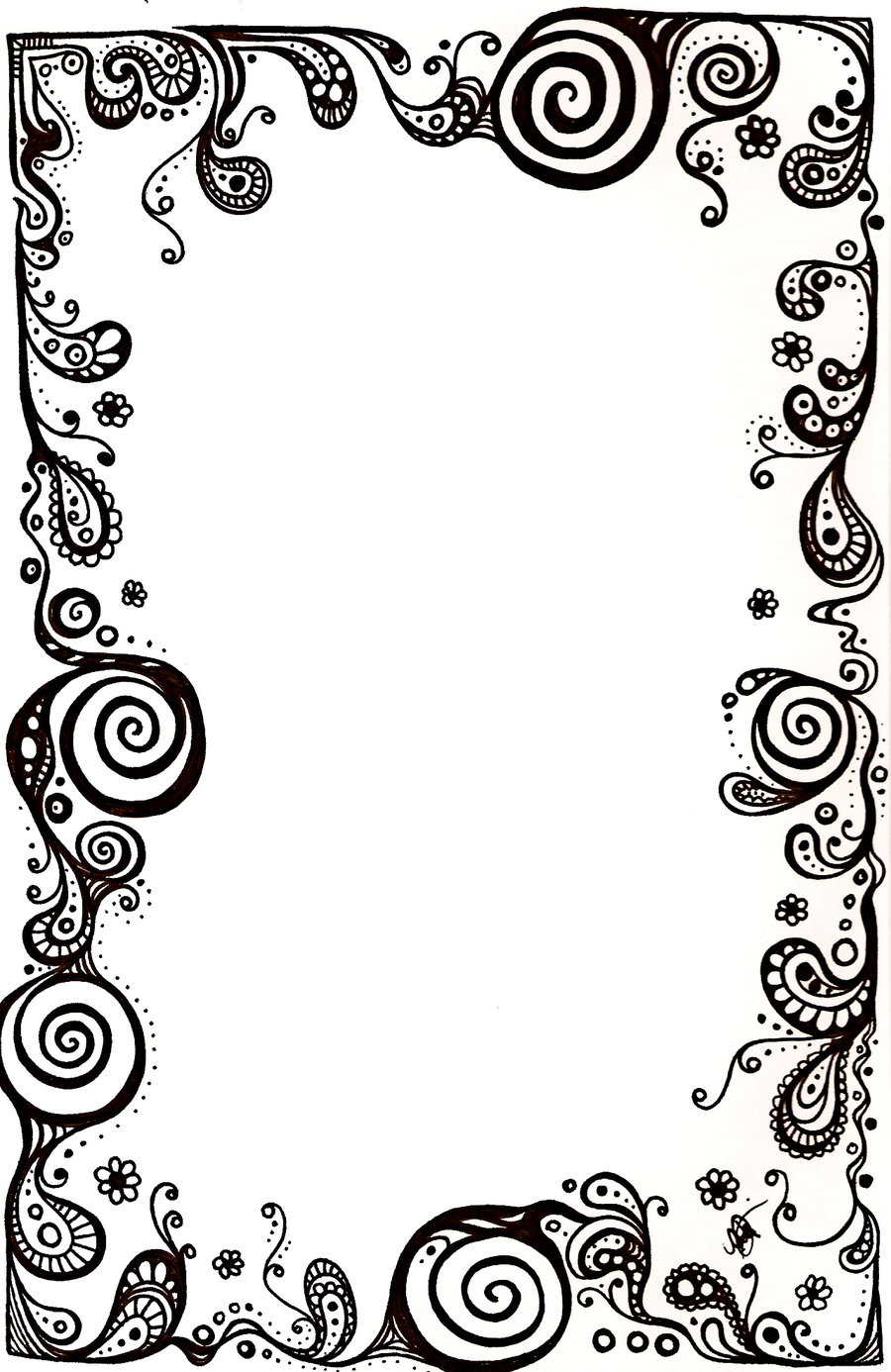 Free Paisley Border Png, Download Free Clip Art, Free Clip.