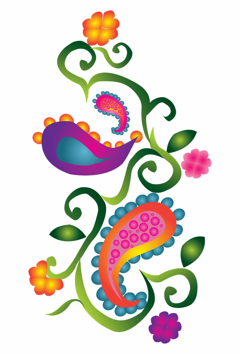 Free paisley clip art borders Transparent pictures on F.